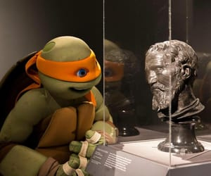 michelangelo and ninja turtles image