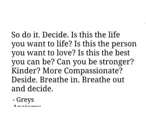 breath, decide, and english image