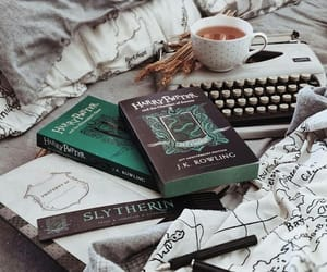 books and slytherin image