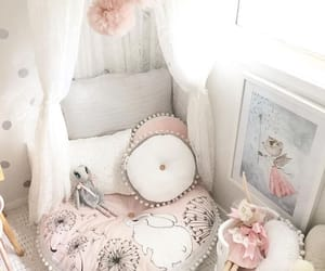 canopy, adorable, and bedroom image