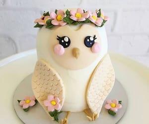 cake and owl image