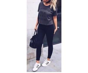 addidas, black, and fashion image