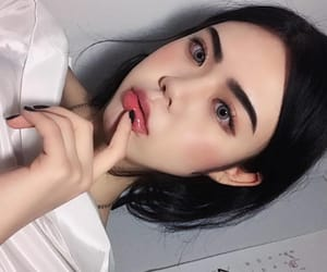 asians, blush, and eyebrows image