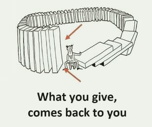 back, give, and quote image