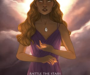 healer, throne of glass, and sarah j maas image