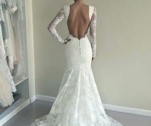 dress, wedding, and weddingdress image