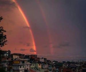 brasil, purple, and rainbow image