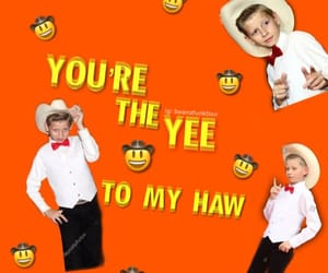 yeehaw, reaction pic, and mason ramsey image