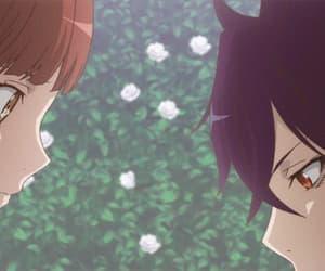 anime, anime boy, and anime girl image