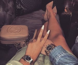 fashion, nails, and couple image