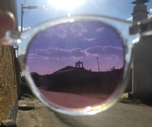 clouds, gafas, and glasses image