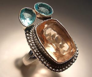 blue ring, renaissance fair, and rope trim image