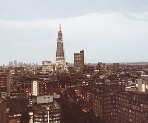 city, shard, and sky image