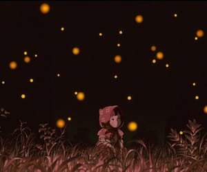 anime, ghibli, and grave of the fireflies image