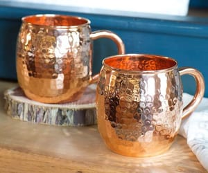 copper, drinks, and mugs image