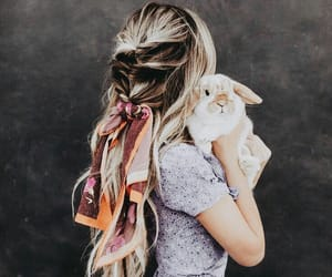 hairstyle and rabbit image