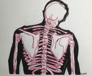 anatomy, art, and black image