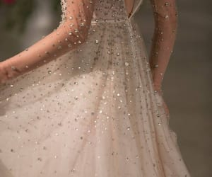 beauty, dress, and sparkles image