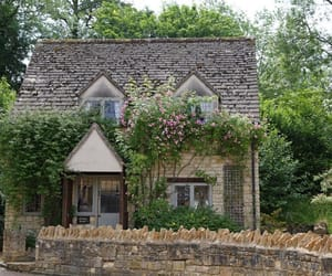cottage, greens, and cotswold image