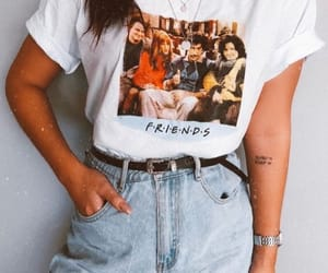 outfit, friends, and fashion image