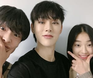 yg, hyunbin, and yg k plus image