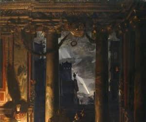 19th century, Decadentism, and night image
