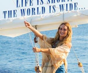 Abba, actress, and Greece image