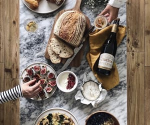 berries, bread, and brunch image