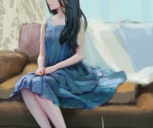 anime, anime girl, and girl art image