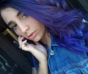 cabelo azul and cabelo colorido image
