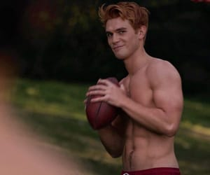 body, football, and red hair image