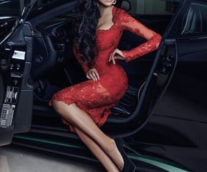 dress, Hot, and red image