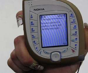 aesthetic, kpop, and nokia image