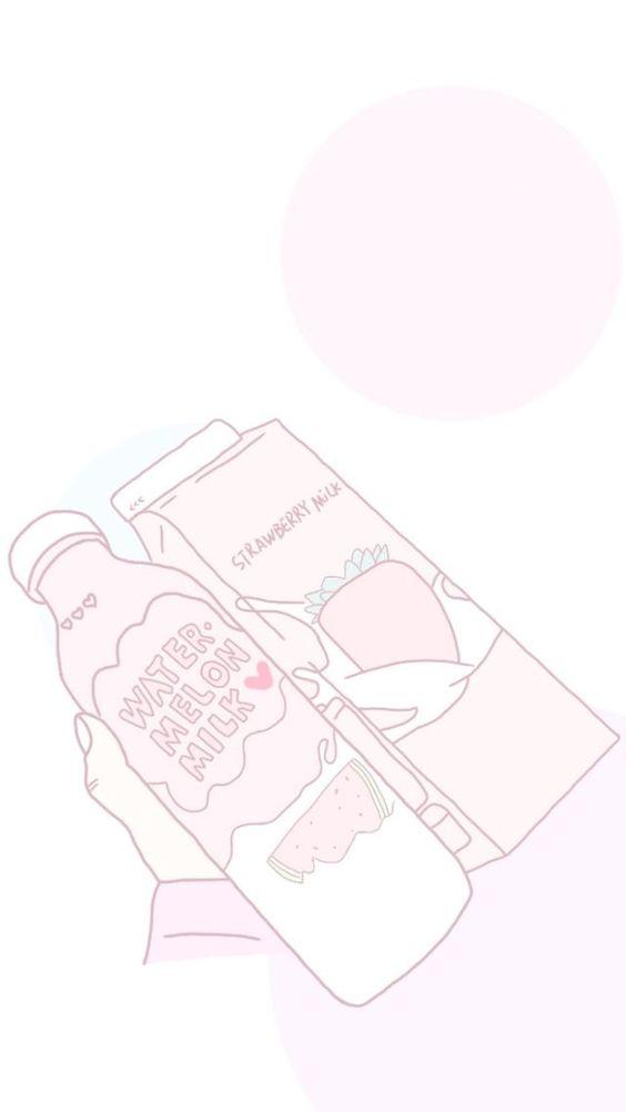 Anime Pastel Cute Food Art Aesthetic Drink Art Pastel