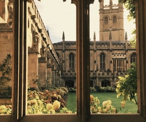 architecture, college, and oxford image