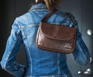 brown, cross body bag, and cross body purse image