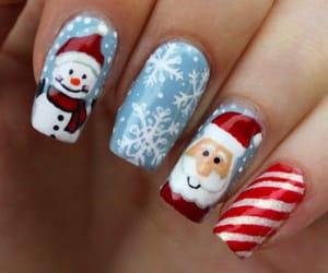belleza, christmas, and nail image