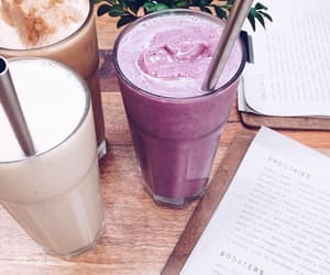 drink, smoothie, and food image