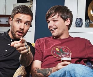 boy, liam payne, and louis tomlinson image
