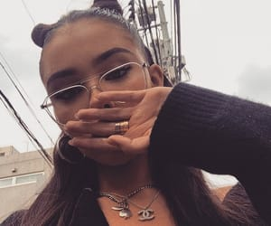 madison beer, madisonbeer, and glasses image