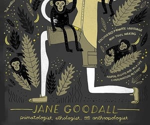 Queen, science, and jane goodall image