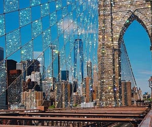glitter, new york, and photography image
