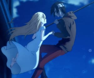 gif, satsuriku no tenshi, and anime boy image