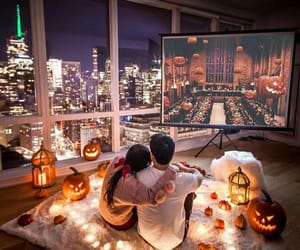 couple, love, and Halloween image
