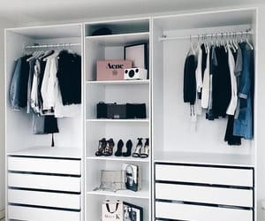 room, white, and wardrobe image