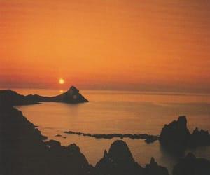 almeria, sunset, and cabo de gata image