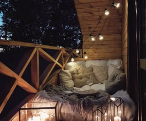 comfy, dreamy, and lights image