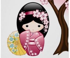 anime, geisha, and girl image