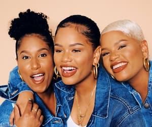 90's, black women, and brown image