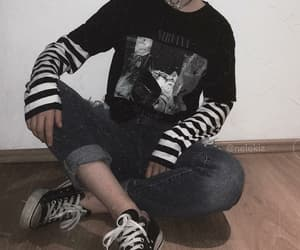 alternative, clothes, and converse image